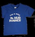 Mud Runner Child Sized T-shirt (BLUE)