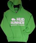 Mud Runner Hoodie Junior (LIME GREEN)