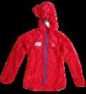 Salomon Fast Wing Hooded Jacket (LADIES RED)