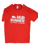 Mud Runner Adult Sized T-shirt (RED)