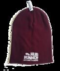 Mud Runner Slouch Beanie (BURGUNDY)